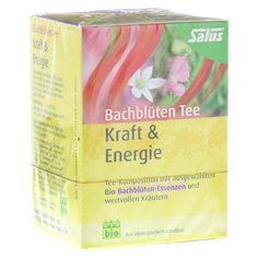 BACHBLÜTEN Tee Kraft & Energie Bio Salus 15 Stück