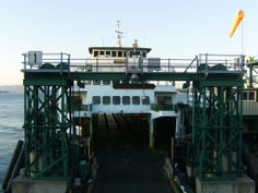Hyak Ferry - Anacortes - Headed to the San Juan Islands, Washington State
