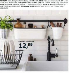 Fintorp serie kruidenrek - Huismerk - Ikea For chalk, etc in the playroom