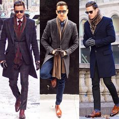 ❄️It's only fitting, some subzero friendly looks. Winter Outfits Men, Stylish Mens Outfits, Business Casual Outfits, Winter Wear For Men, Mens Winter Boots, Der Gentleman, Gentleman Style, Style Costume Homme, Estilo Hipster