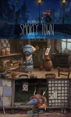 Get ready ! Smokey Town's trailer is out this Wednesday ! We put a lot of work cooking this for you guyz, I hope you will like it !