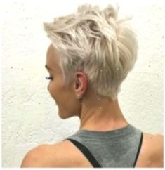 Messy Short Haircut, Very Short Hair Styles for Female Really Short Hair, Super Short Hair, Short Grey Hair, Short Hair Cuts, Short Hair Styles, Messy Pixie Haircut, Short Sassy Haircuts, Latest Short Hairstyles, Pixie Hairstyles