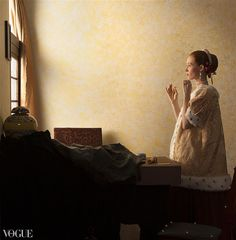 Johannes Vermeer, Film Grab, Colonial America, Celebrity Hair Stylist, Famous Words, Hair And Makeup Artist, Classical Art, Cool Art, Fun Art