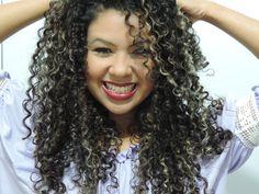 cabelo secado com difusor - Pesquisa Google