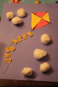kite craft for toddler