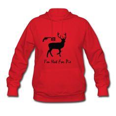Christmas Deer - Women's Hoodie