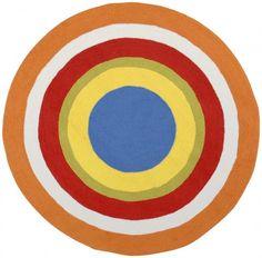 4 Round Area Rug - Playground 6030 by Surya Rugs Playground Collection