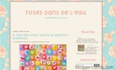 Blogger Candy | Cute Blogger Templates 2014 | http://www.bloggercandy.com