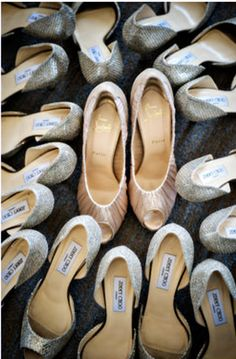 If only I could afford Louboutins for me and Jimmy Choos for my girls...    http://junebugweddings.com/blogs/what_junebug_loves/archive/2012/02/27/elegant-classic-black-white-san-francisco-wedding-laura-lee.aspx?utm_source=feedburner&utm_medium=feed&utm_campaign=Feed%3A+WhatJunebugLovesWeddingBlog+%28What+Junebug+Loves!+Top+wedding+and+fashion+blog%29&utm_content=Google+Reader