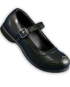 Aris Allen Retro Black Wingtip Athletic Mary Jane Swing Dance Shoes with Suede Leather Sole Aris Allen. $64.95