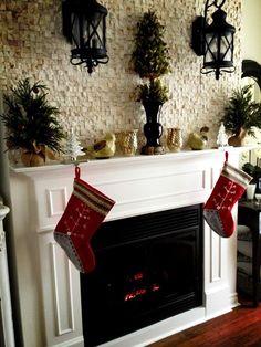 Classic Christmas Mantel | House & Home