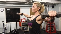 The shoulders are an area a lot of women neglect when it comes to weight training or general fitness routines. However, the shoulders can round out your upper body for a slender, lean look that tightens your arms and chest. This workout is all about the best shoulder moves a girl can add to their arsenal in the gym. Try this routine with a set of dumbbells as a stand-alone workout, or add it to your upper body training day!
