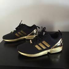 zapatillas adidas flux negro