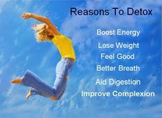7 Good Reasons to Detox