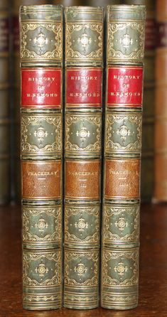 The History of Henry Esmond, Esq. It was not until later, with the publication of Vanity Fair and Henry Esmond, that Thackeray's reputation grew. William Makepeace Thackeray, 1811 was an English novelist of the century. William Makepeace Thackeray, Christmas Books, Bookbinding, Book Gifts, Things To Sell, History, House Design, Ebay, Beautiful