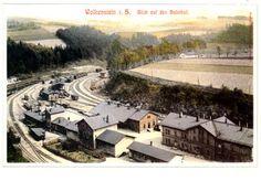 Historische Ansicht Bahnhof Wolkenstein
