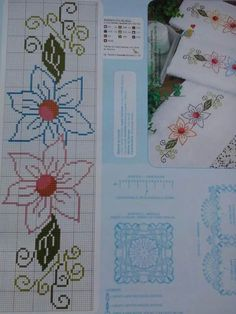 This Pin was discovered by Eli Mini Cross Stitch, Cross Stitch Borders, Cross Stitch Flowers, Cross Stitch Designs, Cross Stitching, Cross Stitch Embroidery, Hand Embroidery, Cross Stitch Patterns, Broderie Simple