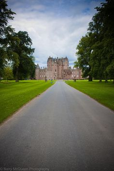 SCOTLAND: June 1984, this is the third castle I visited - Glamis Castle in Angus, Scotland - home of the Earl of Strathmore & Kinghorne. It is the fictional setting of Shakespeare's Macbeth, and is the childhood home of Queen Elizabeth, the Queen Mother.