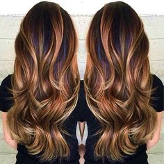 16 Best Balayage Hair Color Ideas For Brunettes In 2017 #hair #color #ideas #brunettes #balayage