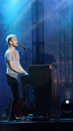 Colton on the piano