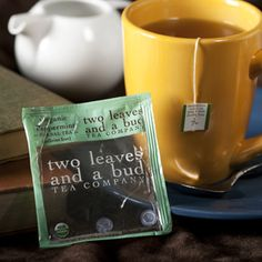 Two Leaves and a Bud, Hot Tea.    This is my favorite bagged tea!
