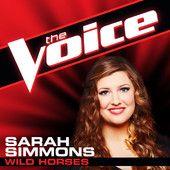 """Sarah Simmons: """"Wild Horses"""" #Knockouts #TeamAdam"""