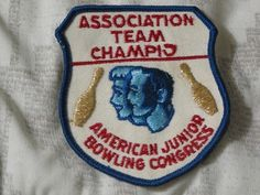 A Junkee Shoppe Junk Market Stop: ABC Junior Bowling Congress Patch Unknown Season ... For Sale Click Link Here To View >>>> http://ajunkeeshoppe.blogspot.com/2016/01/abc-junior-bowling-congress-patch.html