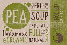 Pea Soup Free Font