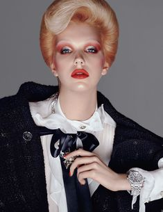 Bente Oort in A Sprinkle of Stardust for British Vogue, August 2019 Shot by Steven Meisel Styled by Edward Enninful High Fashion Photography, Glamour Photography, Lifestyle Photography, Editorial Photography, Steven Meisel, Vogue Uk, Vogue Russia, Vogue Editor In Chief, Mode Editorials