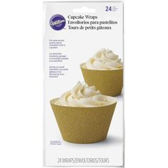 Wilton 24 Count Glitterati Gold Cupcake Liners * Instant discounts available : Baking pans Petal Cupcakes, Peacock Cupcakes, Zebra Cupcakes, Minnie Cupcakes, Polka Dot Cupcakes, Hello Kitty Cupcakes, Rainbow Cupcakes, Disney Frozen Cupcakes, Disney Princess Cupcakes