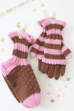 Suffeli-sormikkaat ja -sukat Novita 7 Veljestä | Novita knits