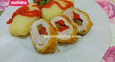 Sebzeli Tavuk Sarma ve Patates Püresi Tarifi