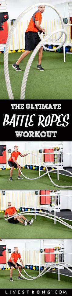 Battle Rope Workout | Posted By: CustomWeightLossProgram.com