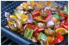 Sandra's Grilled Balsamic Veggies - Dinner