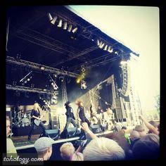 Jurassic #Rock 2013 in #Visulahti, #Mikkeli #Finland