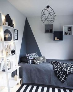 Awesome Deco Chambre Simple that you must know, You?re in good company if you?re looking for Deco Chambre Simple Trendy Bedroom, Modern Bedroom, Bedroom Black, Contemporary Bedroom, Modern Contemporary, Bedroom Neutral, Bedroom Simple, Bedroom Rustic, Modern Wall
