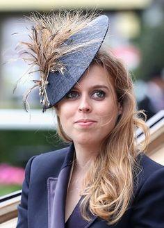 Princess Beatrice, June 14, 2016 in Sarah Cant | Royal Hats