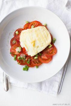 Tomatensalat mit Schafskäse ♥
