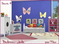 Jade Bedroom by Pilar at TSR