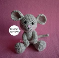 So cute! Did one in worsted yarn and one in lightweight. Want to do an itty bitty one with sock yarn.
