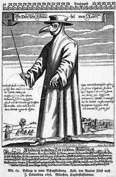 Plague doctor.