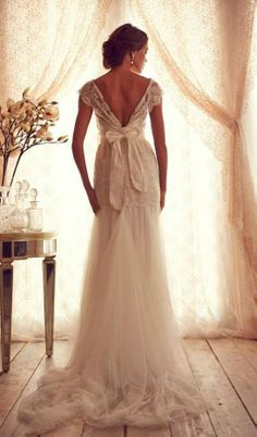 This dress is gorgeous-love the back!