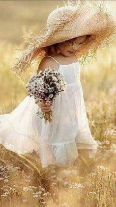 Fields Of Gold, Field Of Dreams, Girl Pictures, Girl Pics, Flower Girl Dresses, Wedding Dresses, Children, Instagram Posts, Photography