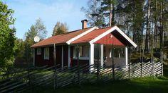 Älgen. Neugebautes Ferienhaus in naturschöner Lage mit Sauna. Småland, Sverige