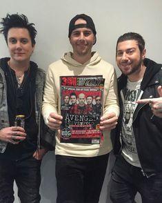 Brian, Matt and Zack ❤ A7X