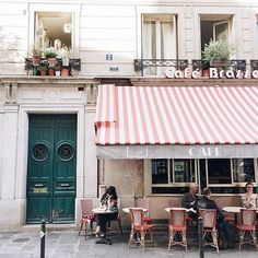 "(2/5) ""Like most metropolitan cities, Paris has been experiencing a wave of new coffee shops and restaurants but the charming old bistros with their surly waiters, the dreamers, the writers... Everything about the old Paris, they are all still here."" - @jasminetartine #BastilleDay #WhereToFindMe #regram"
