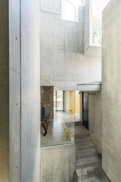 Tree-ness House, Tokyo / Akihisa Hirata Futuristisches Design, Home Design, Home Interior Design, Modern Design, Design Ideas, Organic Architecture, Japanese Architecture, House Tokyo, Tadelakt