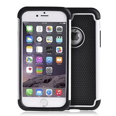 94703ef196f43 iPhone 6 Case Okeyn® Series  Heavy Duty Shock Absorbing  iPhone 6  Dual  Layer Protection  Cover for Apple iPhone