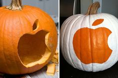 How many of you are going to carve the Apple logo into your pumpkin this year?