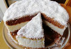 Jednoduchý kokosový dort | NejRecept.cz Oven Baked, Vanilla Cake, Tiramisu, Cupcake Cakes, Mad, Food And Drink, Coconut, Snacks, Cookies
